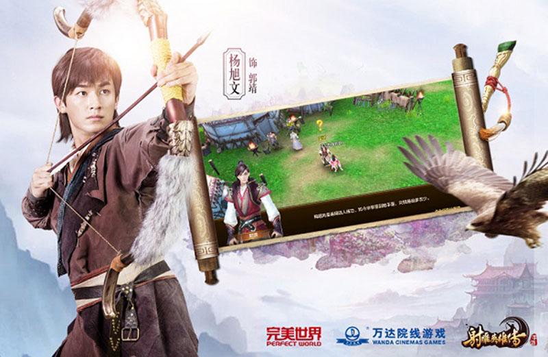 Game mobile Anh Hùng Xạ Điêu là sản phẩm kiếm hiệp mới nhất của Kim Dung  được chuyển thể