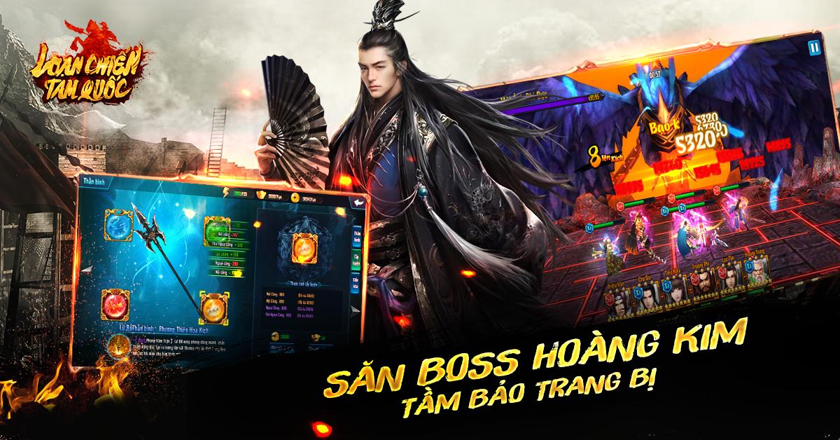 Game mobile Loạn Chiến Tam Quốc ra mắt 1