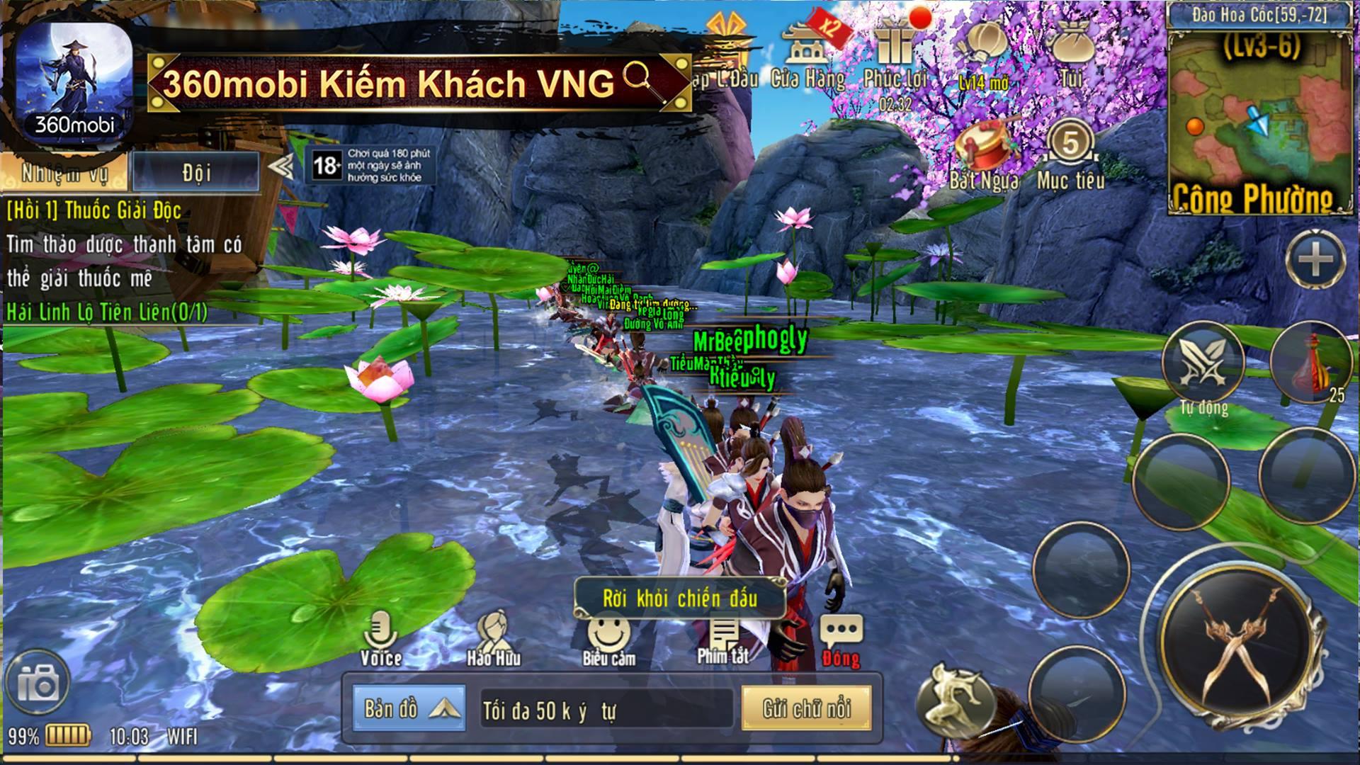 360mobi Kiếm Khách sẽ ra mắt chính thức vào 10h00 ngày 13/04, với phiên bản  Android. Những người chơi đã nạp thẻ từ phiên bản thử nghiệm sẽ được hoàn  trả ...