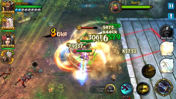 Game mobile Loạn Chiến Tam Quốc chính thức ra mắt làng game Việt In-game2