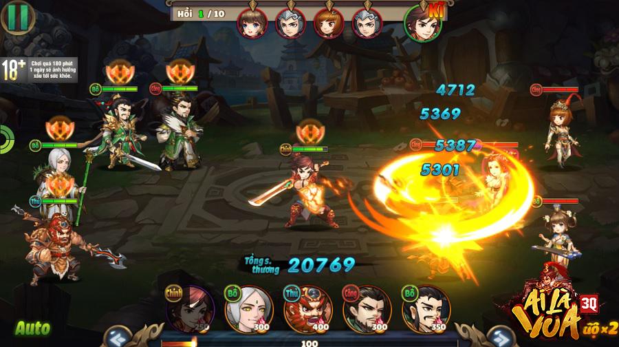 """Đây là một trong những tựa game chiến thuật Tam Quốc """"hack não"""" được yêu  thích trên toàn Châu Á bởi yếu tố mà rất ít sản phẩm cùng loại có được: 9  tính năng ..."""
