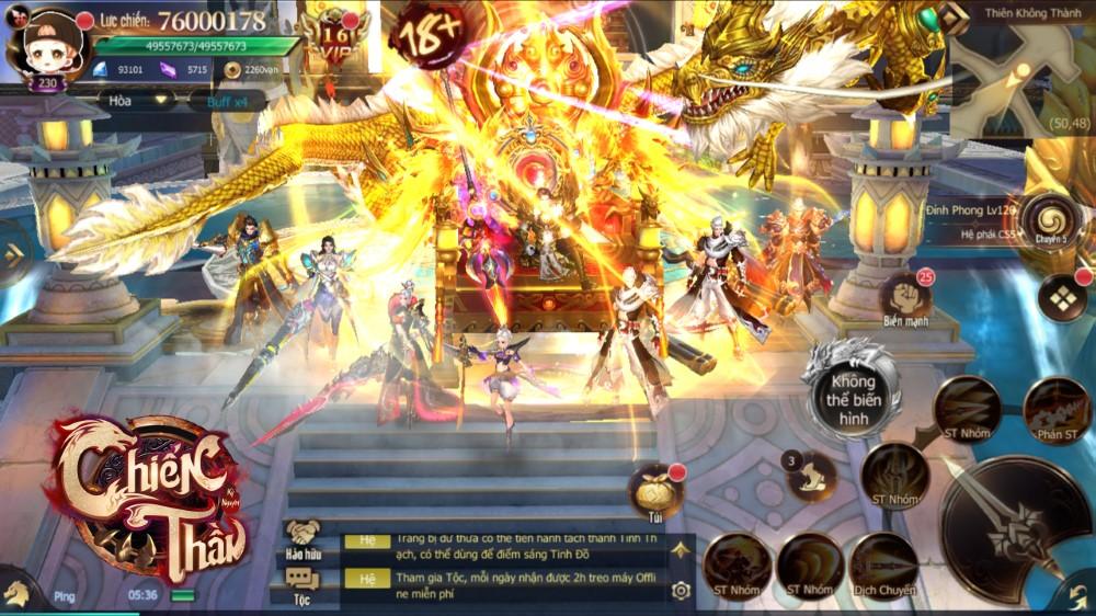 Chiến Thần Kỷ Nguyên hứa hẹn mang đến những trải nghiệm đầy mới mẻ cho game thủ Việt 04