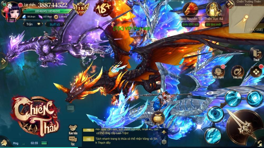 Chiến Thần Kỷ Nguyên hứa hẹn mang đến những trải nghiệm đầy mới mẻ cho game thủ Việt 06